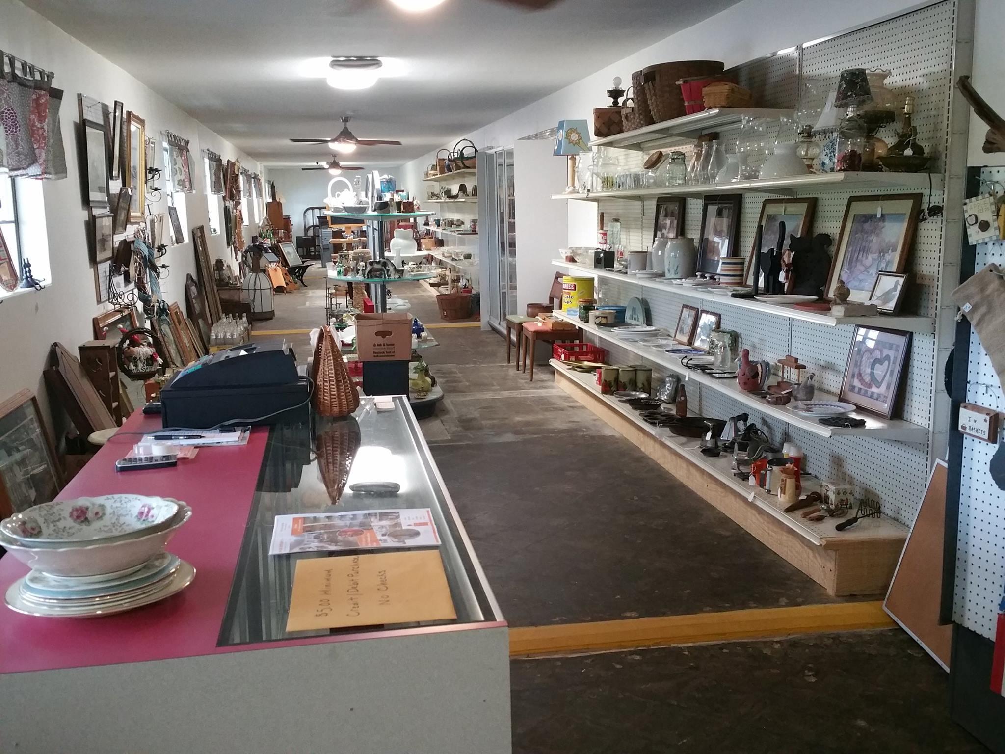 Antique Shop at Motel