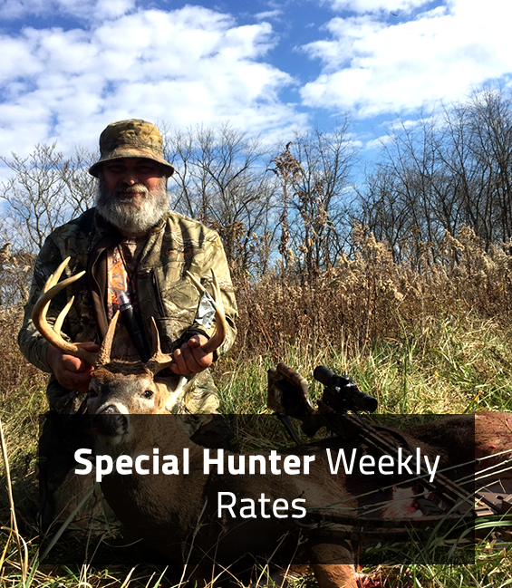 Special Hunter Weekly Rates