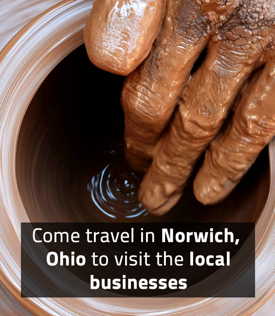 Come travel in Norwich, Ohio to visit the local businesses