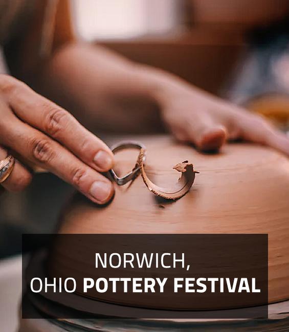 NORWICH, OHIO POTTERY FESTIVAL